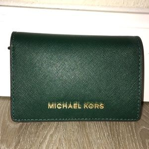 NEW Michael Kors Saffiano Leather Wallet